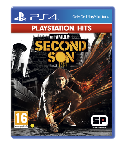 InFamous: Second Son - PlayStation Hits (PlayStation 4)