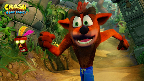 Crash Bandicoot N.Sane Trilogy (playstation 4)