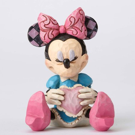 FIGURA MINNIE MOUSE WITH HEART MINI