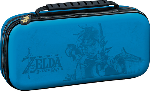 BIGBEN NINTENDO SWITCH TRAVEL CASE ZELDA BLUE