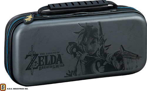 BIGBEN NINTENDO SWITCH TRAVEL CASE ZELDA GREY