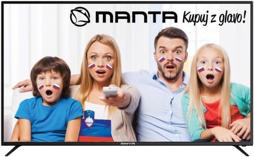 Manta  LED 40LFN19S, 40'' (diagonala 102cm), Full HD, črn TV sprejemnik