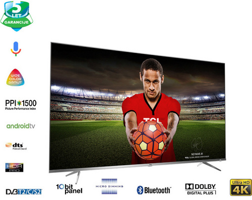 TCL 50DP660 4K UHD Android Smart LED TV