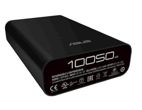 ASUS ZenPower Powerbank, 10050mAh, črne barve