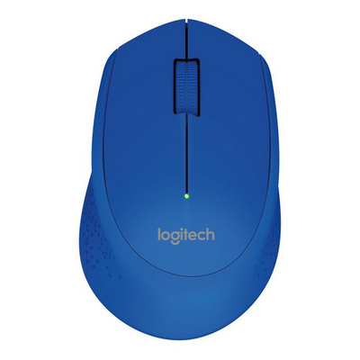 Logitech M280 Wireless, modra miška
