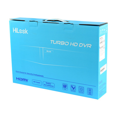 Video snemalnik DVR HD/HDCVI/AHD/CVBS HiLook DVR-208G-F1 8-kanalni, 2MP