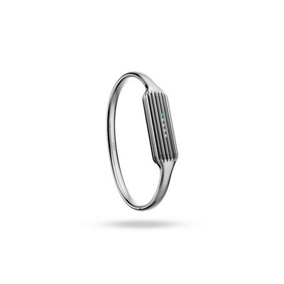 Fitbit Flex 2 Accessory Bangle, Silver - Large