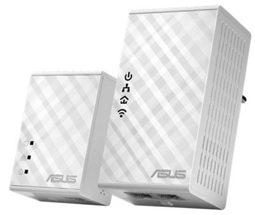 ASUS PL-N12 Kit 300Mbps AV500 WiFi Powerline Ext.