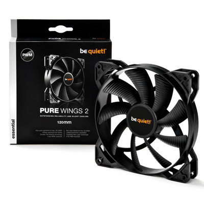 BE QUIET! Pure Wings 2 (BL039) 120mm 4-pin PWM ventilator