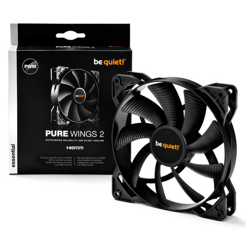 BE QUIET! Pure Wings 2 (BL040) 140mm 4-pin PWM ventilator