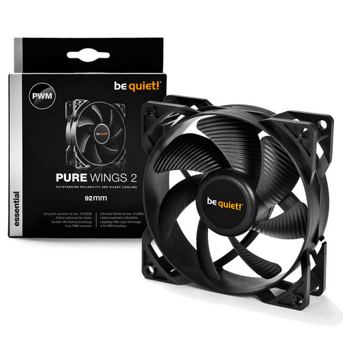 BE QUIET! Pure Wings 2 (BL038) 92mm 4-pin PWM ventilator