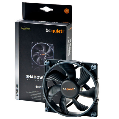 BE QUIET! Shadow Wings (BL026) 120mm 4-pin PWM ventilator