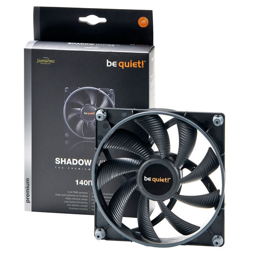 BE QUIET! Shadow Wings (BL027) 140mm 4-pin PWM ventilator