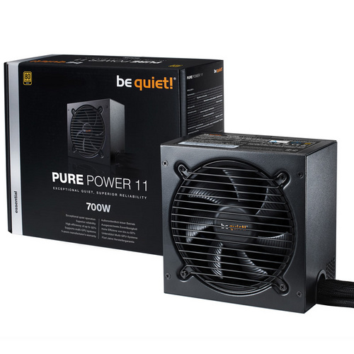 BE QUIET! PURE POWER 11 700W (BN295) 80Plus Gold napajalnik