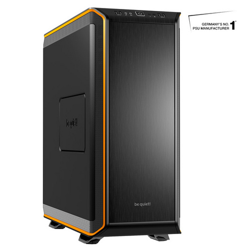 BE QUIET! DARK BASE 900 (BG010) midiATX črno/oranžno ohišje