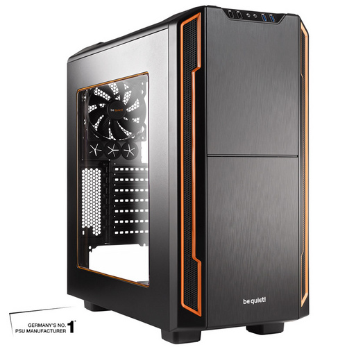BE QUIET! SILENT BASE 600 (BGW05) midiATX okno črno ohišje