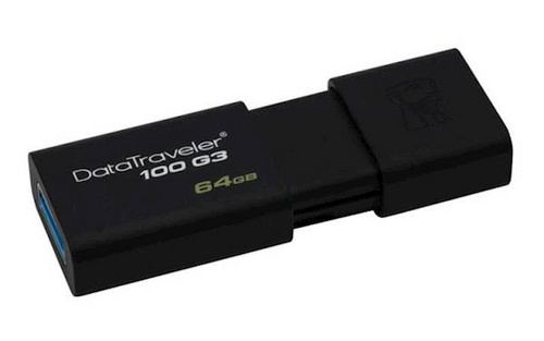 Kingston 64GB DT100G3 (DT100G3 /64GB) USB ključ