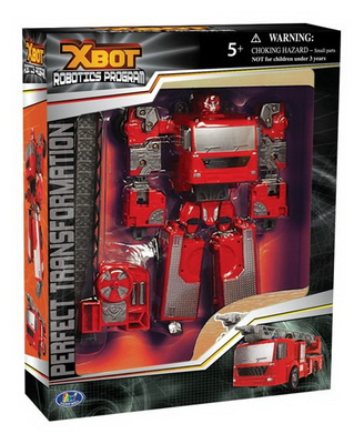TRANSFORMER ROADBOT X-BOT gasilec