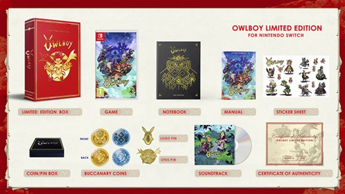 Owlboy Limited Edition (PS4)
