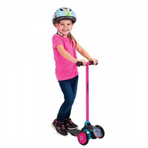 RAZOR TRIKOLESNI SCOOTER JUNIOR T3 roza skiro