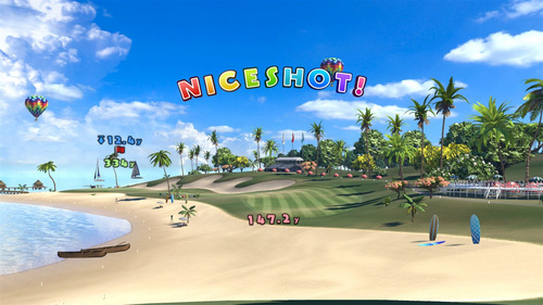 Everybody's Golf VR (PlayStation 4)