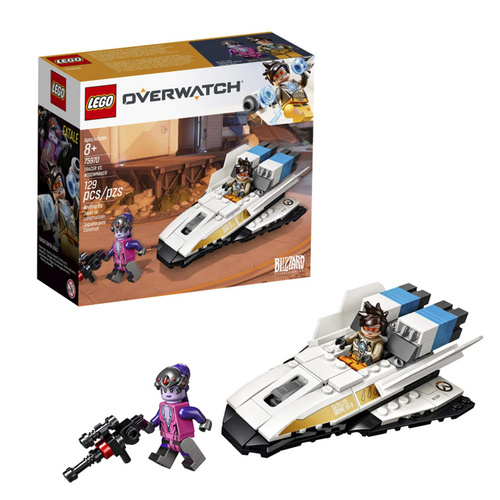 OVERWATCH TRACER VS. WIDOWMAKER lego kocke