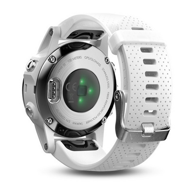 GARMIN FENIX 5S Plus - white (sea foam band)