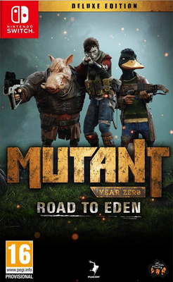 Mutant Year Zero: Road to Eden - Deluxe Edition (Switch)