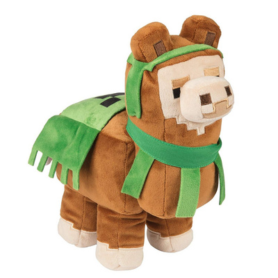 JINX MINECRAFT ADVENTURE LLAMA PLIŠ BROWN