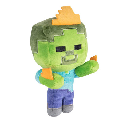 JINX MINECRAFT HAPPY EXPLORER ZOMBIE ON FIRE PLIŠ