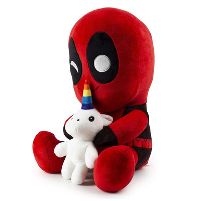 KIDROBOT HUGME-MARVEL-DEADPOOL WITH UNICORN