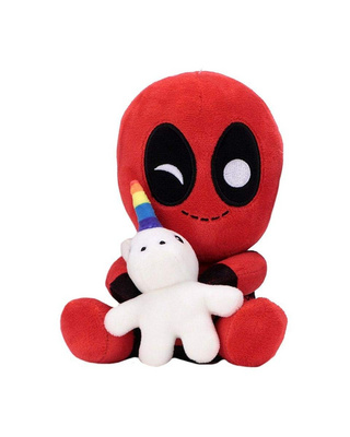 KIDROBOT PHUNNY-MARVEL-DEADPOOL WITH UNICORN