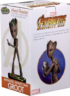 NECA AVENGERS: INFINITY WAR-HEAD KNOCKER-GROOT