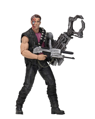 NECA TERMINATOR 2 - 7 KENNER TRIBUTE - POWER ARM T-800