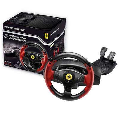 RACING WHEEL - THRUSTMASTER FERRARI LEGEND (RED) PS3/PC