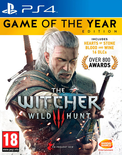 The Witcher 3 GOTY (PlayStation 4)