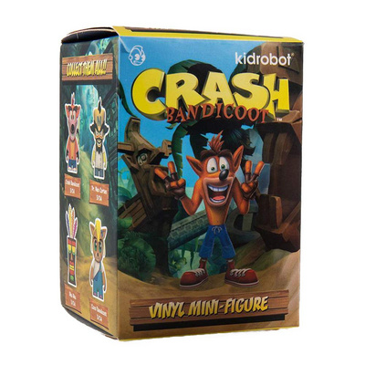 KIDROBOT FIGURE CRASH BANDICOOT MINI SERIES