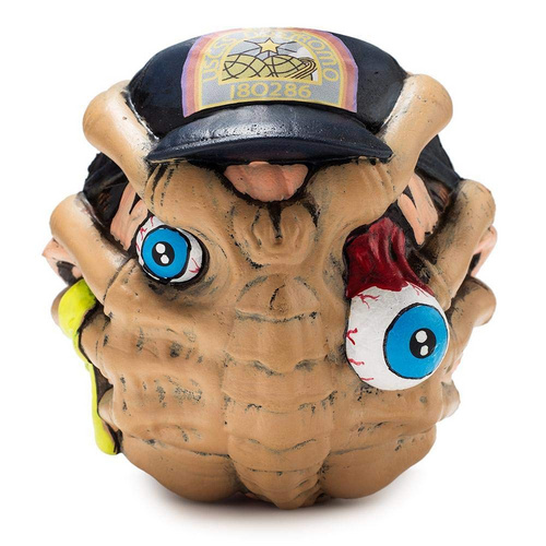 """KIDROBOT 4"" MADBALL FOAM BALL FACEHUGGER"