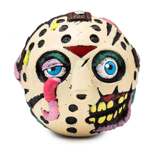 """KIDROBOT 4"" MADBALL FOAM BALL JASON VOORHEES"