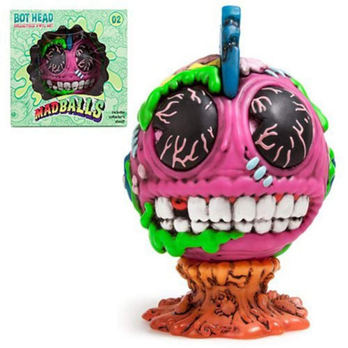 KIDROBOT MADBALLS MEDIUM FIGURES-BOT HEAD