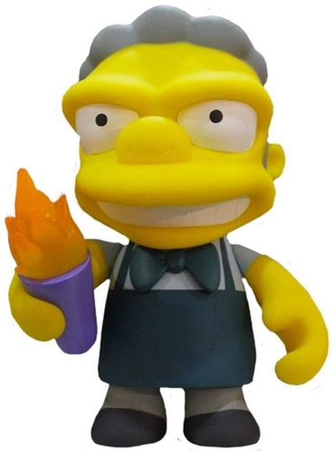KIDROBOT THE SIMPSONS MOE MEDIUM FIGURE