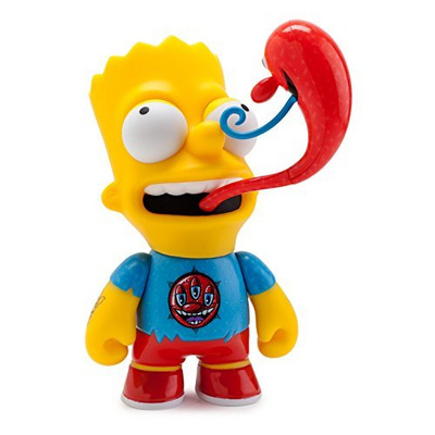 KIDROBOT THE SIMPSONS KENNY SCHARF 6 BART
