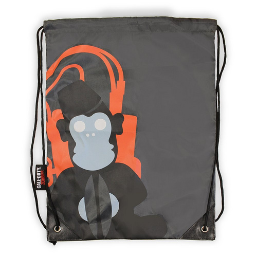 CALL OF DUTY MONKEY BOMB DRAWSTRING BAG NUMSKULL nahrbtnik