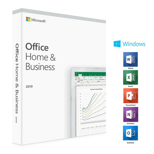 MICROSOFT Office Home & Business 2019 angleški FPP (T5D-03216) za Windows 10