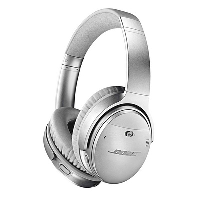 BOSE QUIET COMFORT 35 II WIRELESS SLUŠALKE SREBRNE