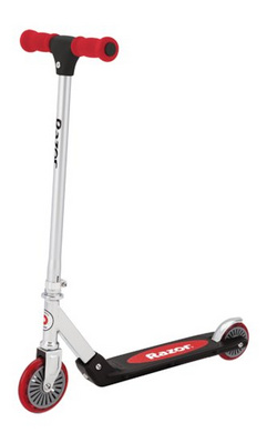 RAZOR SCOOTER B120 rdeč skiro
