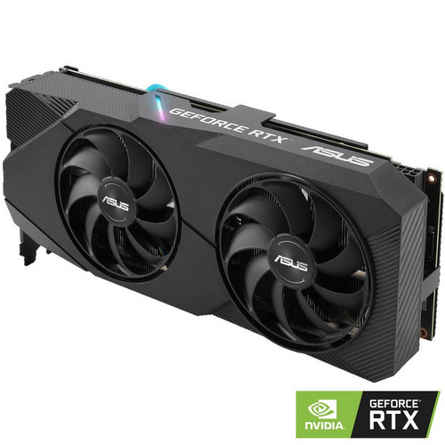 ASUS GeForce RTX 2060 SUPER DUAL OC, 8GB GDDR6, PCI-E 3.0 grafična kartica
