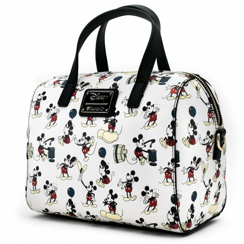 LOUNGEFLY DISNEY MICKEY POSES AOP BAG