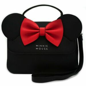 LOUNGEFLY DISNEY MINNIE CROSSBODY WITH EARS AND BOW