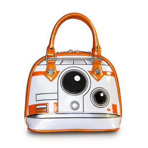 LOUNGEFLY STAR WARS BB-8 MINI DOME BAG